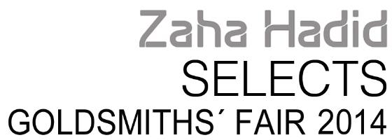 Zaha Hadid logo Goldsmiths