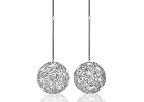 Tom Rucker Jewellery. Platinum with rare white diamonds
